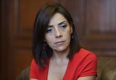 """Alejandra Aramayo se sincera: """"probablemente nunca más postule al Congreso de la República"""""""
