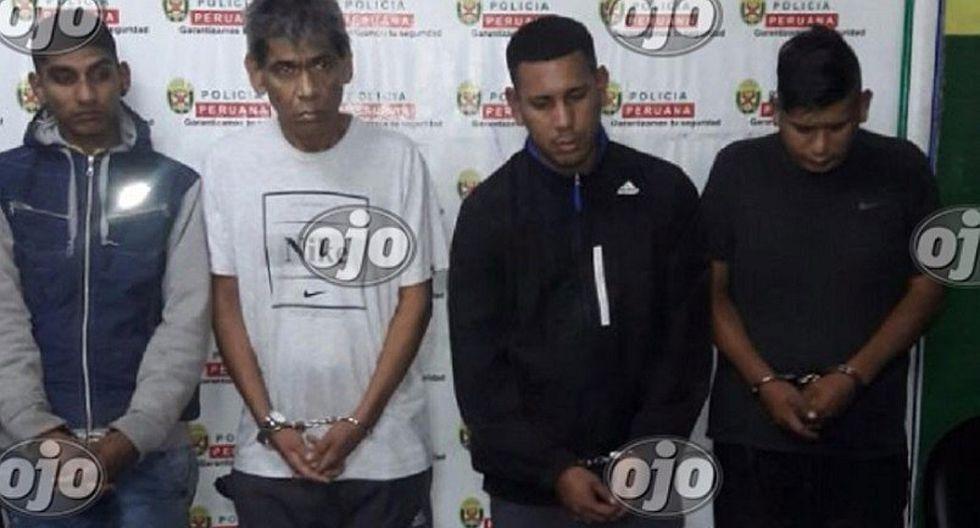 """Surquillo: cae banda que vendía droga y era liderada por """"Puchungo"""" (VIDEOS)"""