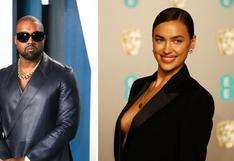 Kanye West es captado de vacaciones en Francia al lado de Irina Shayk