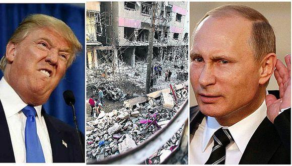 ¡Tensión mundial! Rusia enfrenta a EE.UU. por Siria