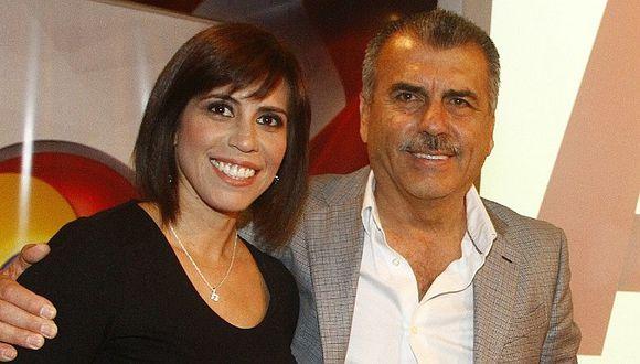 Nicolás Lúcar regresa a la TV y afirma que Magaly está en proceso de reflexión