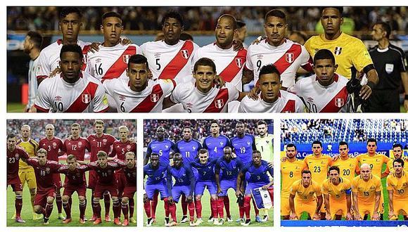 Rusia 2018: selección peruana integra grupo C y primer partido lo jugará contra Dinamarca
