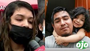 """Exige captura del chofer asesino: """"Que se haga justicia para mi hija de 5 años y mi esposo"""""""