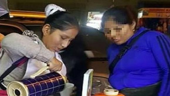 Vendedora peruana crea ingenioso sistema para salir a vender con su bebé (FOTO)