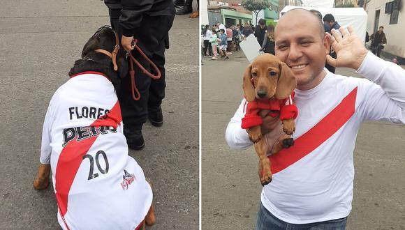 Canes también están con la selección peruana y se ponen la Blanquirroja│FOTOS