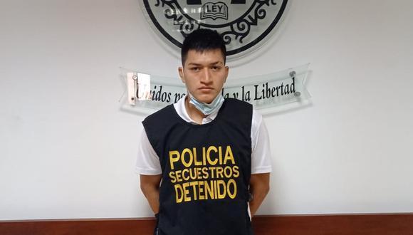 Eddilson Espinoza es investigado en la Dirincri.