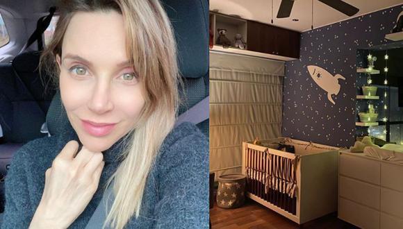 Juliana Oxenford decoró la habitación de su bebé. (Instagram)