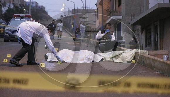 Callao: Dos jóvenes son asesinados a balazos en Ventanilla (FOTOS Y VIDEO)