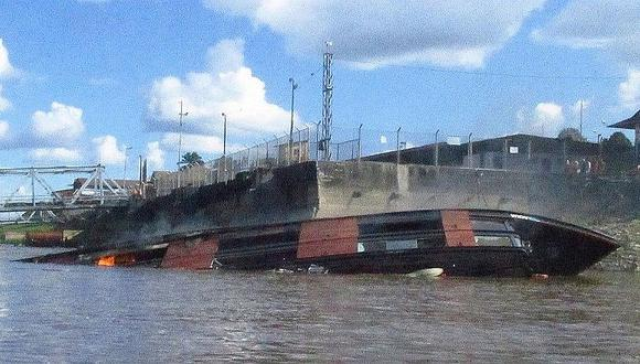 Iquitos: Encuentran a tres víctimas de explosión de embarcación turística