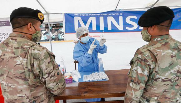Minsa: las capacitaciones se replicarán a más de 200 comandos de las brigadas de las Fuerzas Especiales del Ejército del Perú. (Foto: Minsa)