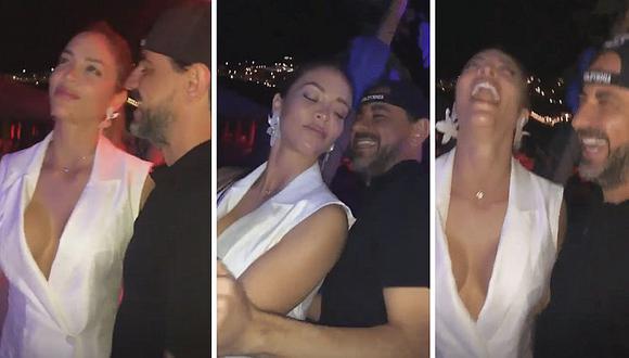 La polémica reacción del millonario Fidelio Cavalli al ver el escote de Sheyla Rojas│VIDEO