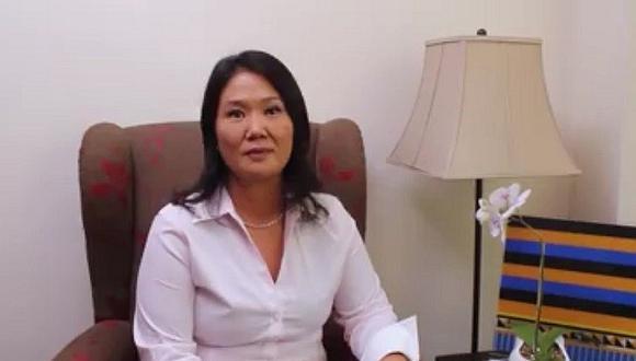 Keiko Fujimori envía mensaje y saludo por el Día del Trabajo