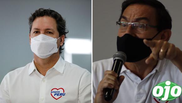 Daniel Salaverry, candidato a la presidencia de la República por Somos Perú. Foto: GEC