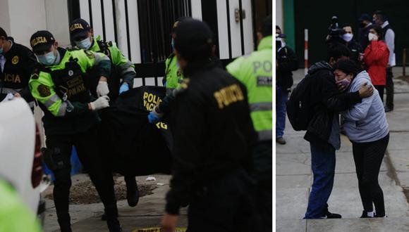 Cámaras de seguridad captaron momento en que asesinan a joven a balazos en presunto ajuste de cuentas en Independencia. Fotos: Cesar Grados / @photo.gec