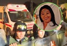 Keiko Fujimori vuelve al penal: abandonó la clínica esta noche | FOTOS