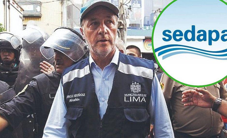 Jorge Muñoz formará parte del directorio de Sedapal