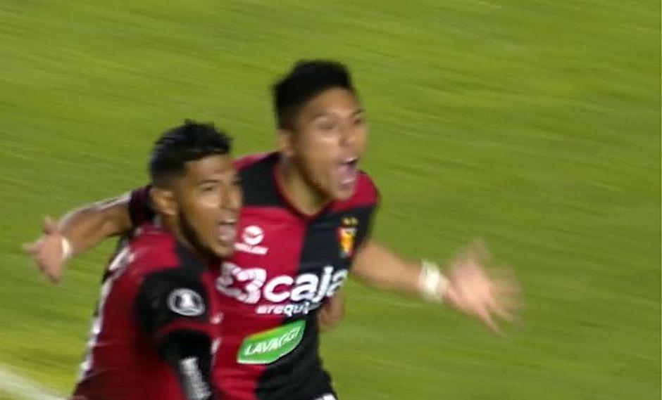 Melgar vence 2-0 al Caracas FC en la Copa Libertadores