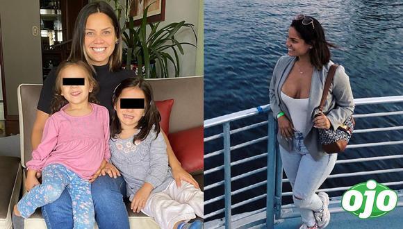 Andrea San Martín se reencontró con sus hijas Maia y Lara. Fotos: Instagram Andrea San Martín