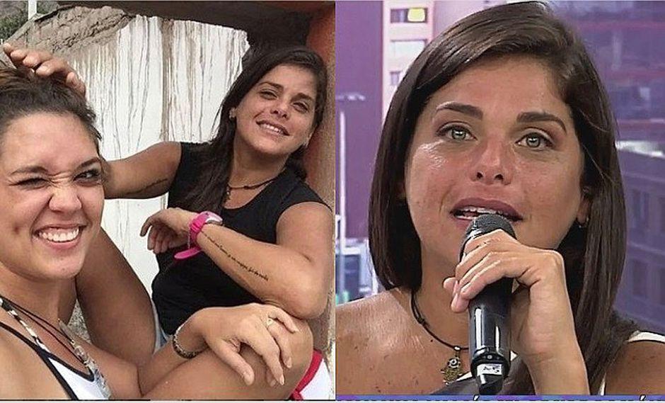 Giovanna Valcárcel cuenta detalle conmovedor sobre su pasada situación sentimental