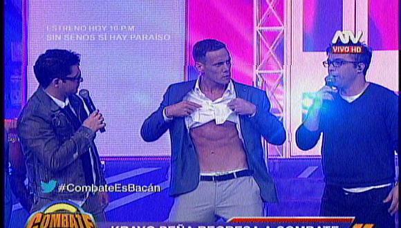 Combate: Krayg Peña regresa con tremendo cuerpazo y ¿se operó la nariz?
