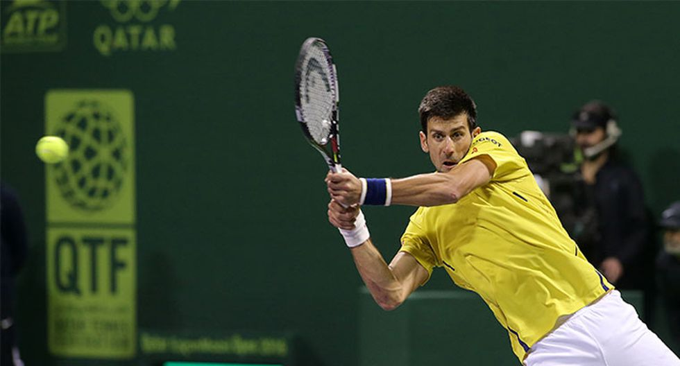 Novak Djokovic fulmina a Rafael Nadal en la final de Doha