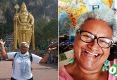 Abuelita se niega a cuidar de sus nietos y se va de viaje por el mundo: esta es su historia