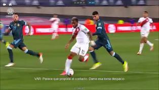 Perú vs. Argentina: La reacción del VAR a la falta de 'Dibu' Martínez sobre Jefferson Farfán