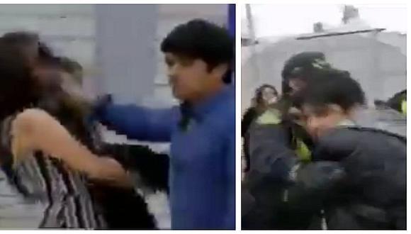 #UnidosPorTodas: hombre comete terrible agresión contra su pareja tras fiesta por Halloween (VIDEO)