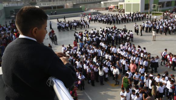 """""""Maestros son prioridad para recibir la vacuna contra la Covid-19″, aseguró ministro de Educación, Ricardo Cuenca (Foto: Archivo de GEC/ César Fajardo)"""