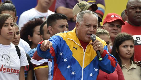 Diosdado Cabello, número 2 del chavismo. (EFE).