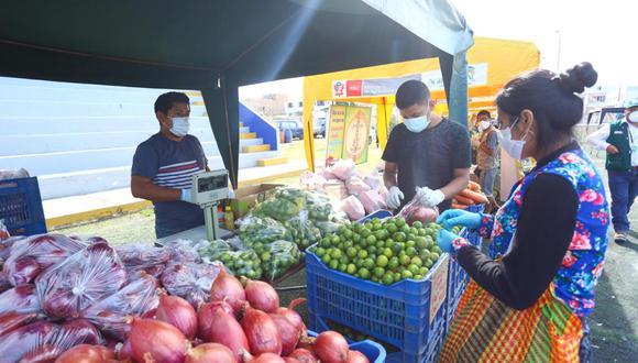 Mercados de la Chacra a la Olla se realizó en 22 departamentos. (Minagri)