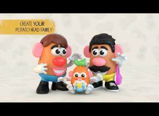 """La familia """"cara de papa"""" y el género neutro en su nueva línea de juguetes"""