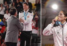 Lima 2019: Alexandra Grande recibió la medalla de oro de manos del presidente Vizcarra│VIDEO