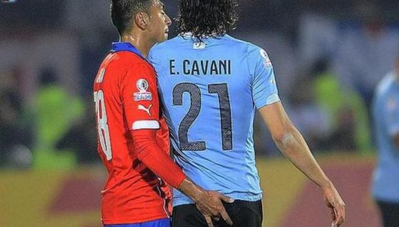 Copa América 2015: La polémica expulsión de Edinson Cavani [VIDEO]