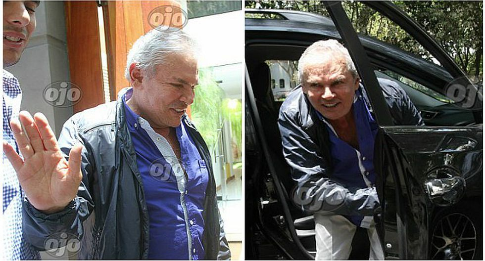 Alcalde Luis Castañeda regresa a su casa tras infarto cardiaco y luce este semblante