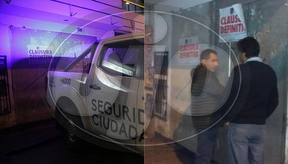 Clausuran un prostíbulo clandestino en San Juan de Miraflores (FOTOS)