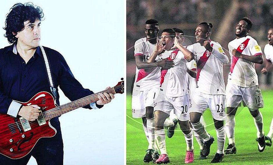 William Luna hace promesa antes del partido Perú vs. Paraguay