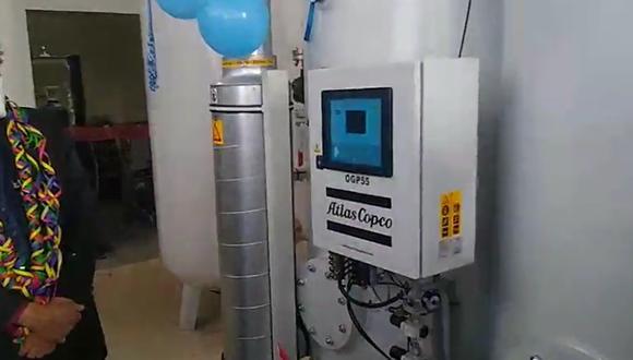Puno: ponen en funcionamiento nueva planta de oxígeno en Juliaca para pacientes COVID-19 (Foto: Gore Puno)