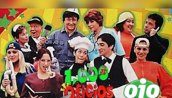 """""""Mil oficios"""" fue una de las series más exitosas en la historia de la televisión peruana, pero lamentablemente desde su último episodio, algunos miembros de su reparto ya no se encuentran más entre nosotros.   Crédito: Panamericana Televisión / Composición"""