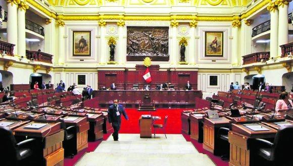 Pleno del Congreso rechazó eliminar la inmunidad parlamentaria. (Foto: Congreso)