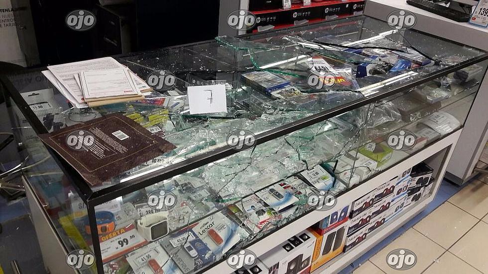 Nuevo asalto a conocido supermercado en Los Olivos
