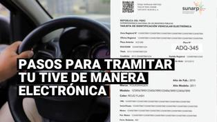 Sunarp: cómo tramitar la nueva Tarjeta de Identificación Vehicular Electrónica
