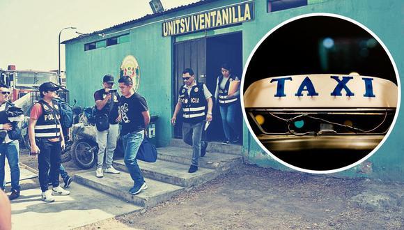 Taxi colectivos