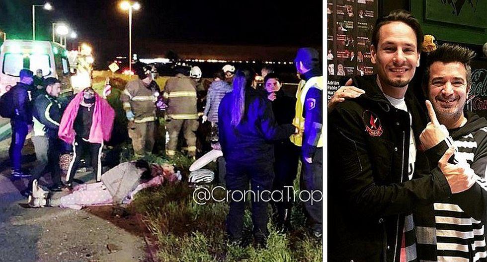 "Rodrigo Tapari relata accidente en el que vio la muerte: ""volamos 20 metros"""