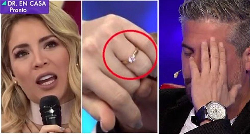 Pedro Moral afirma que no es vividor y revela precio del anillo de compromiso que le dio a Sheyla Rojas (VIDEO)