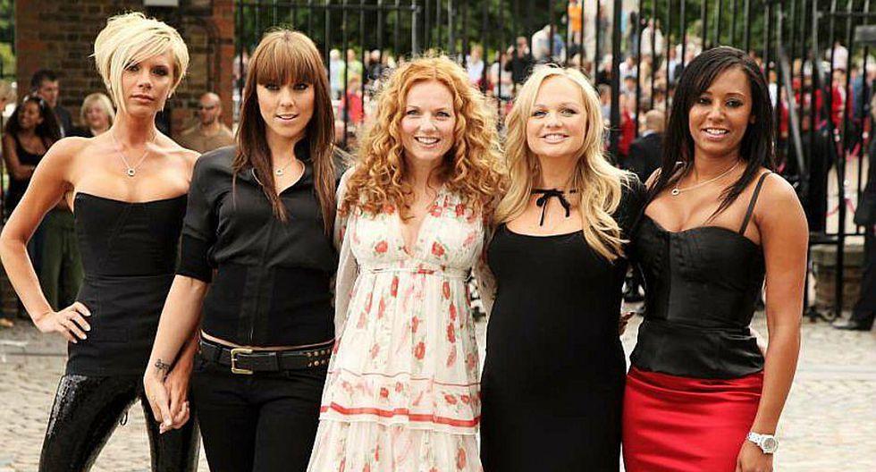 Victoria Beckham y las Spice Girls vuelven a juntarse
