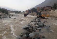Río Rímac: retiran más de 180 000 metros cúbicos de material excedente del cauce