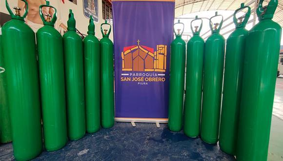 Piura: parroquias adquirieron balones de oxígeno y serán puestos a disposición de la población (Foto: Arzobispado de Piura)