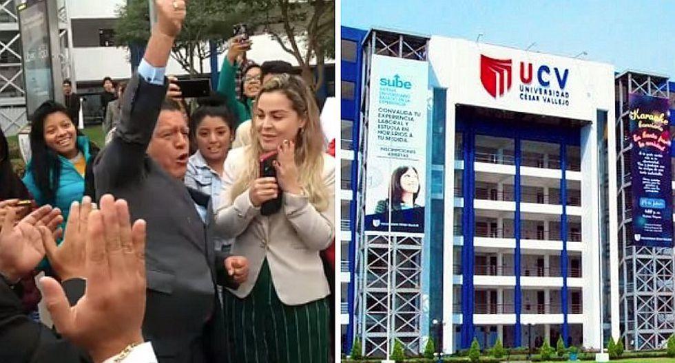 """""""Es la felicidad de más de 2 millones de peruanos"""": César Acuña festeja licenciamiento de la UCV"""