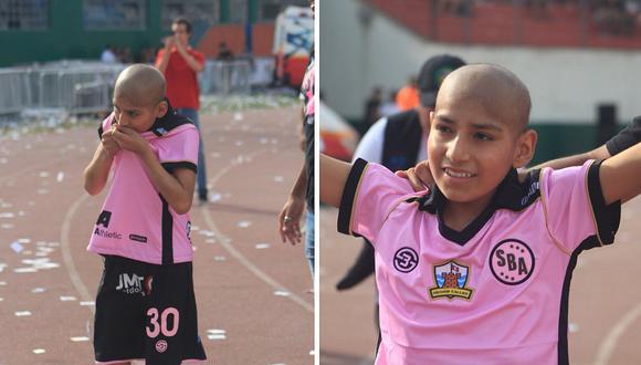 Sport Boys cumple el sueño de un niño con cáncer en la 'tarde rosada'